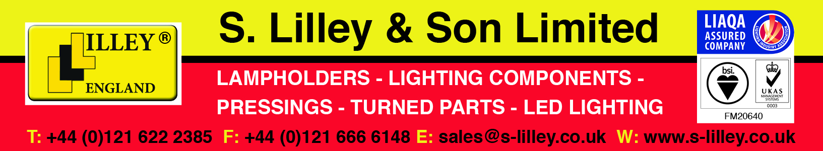 S Lilley banner April 20